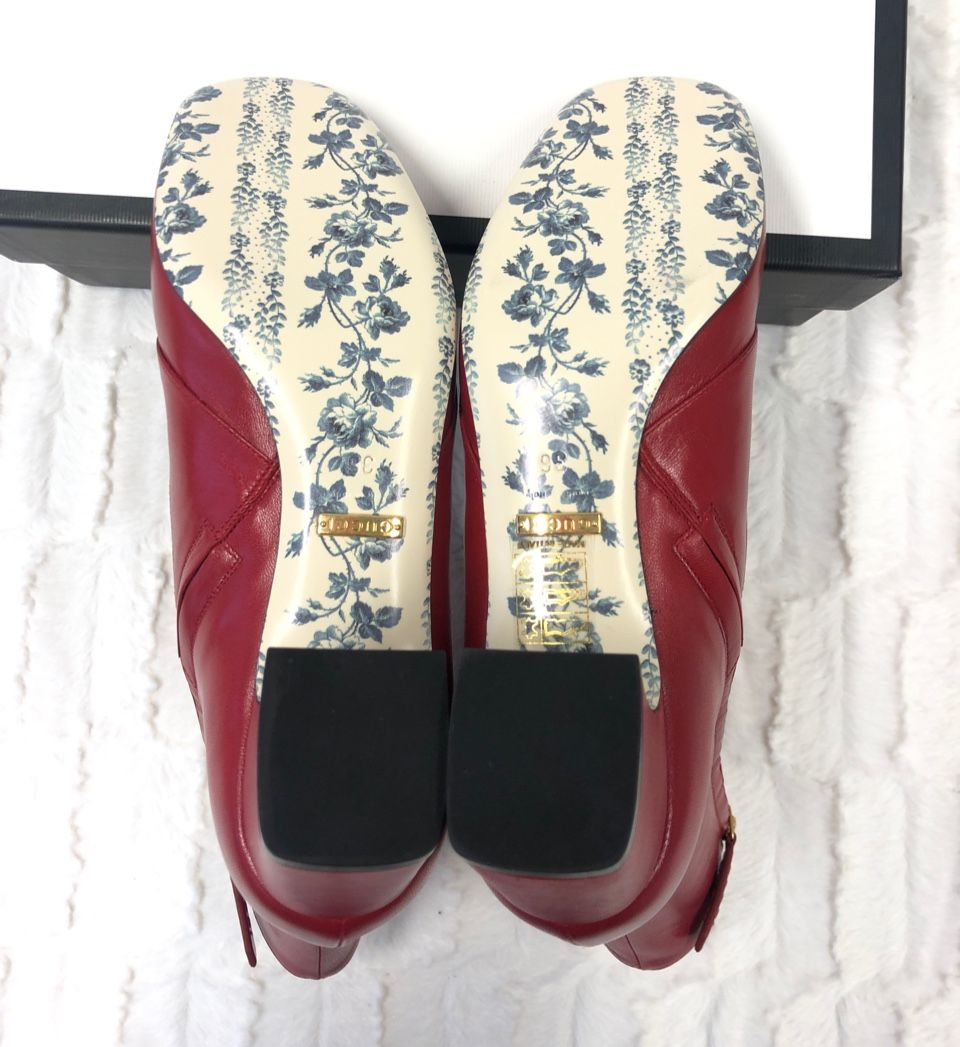 Gucci GG Ankle Boots Red A0127805