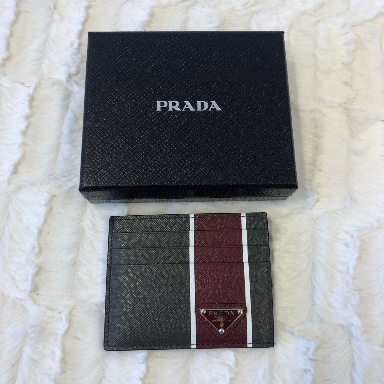 Prada Saffiano leather card holder 2MC223_2FAF_F0XC8