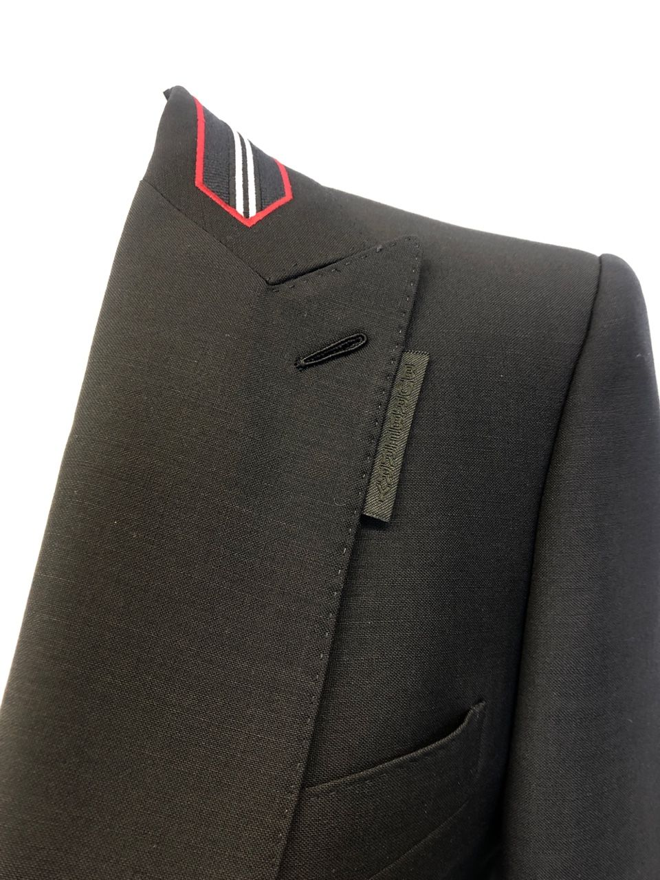 Burberry Icon stripe wool-mohair blazer P00481067