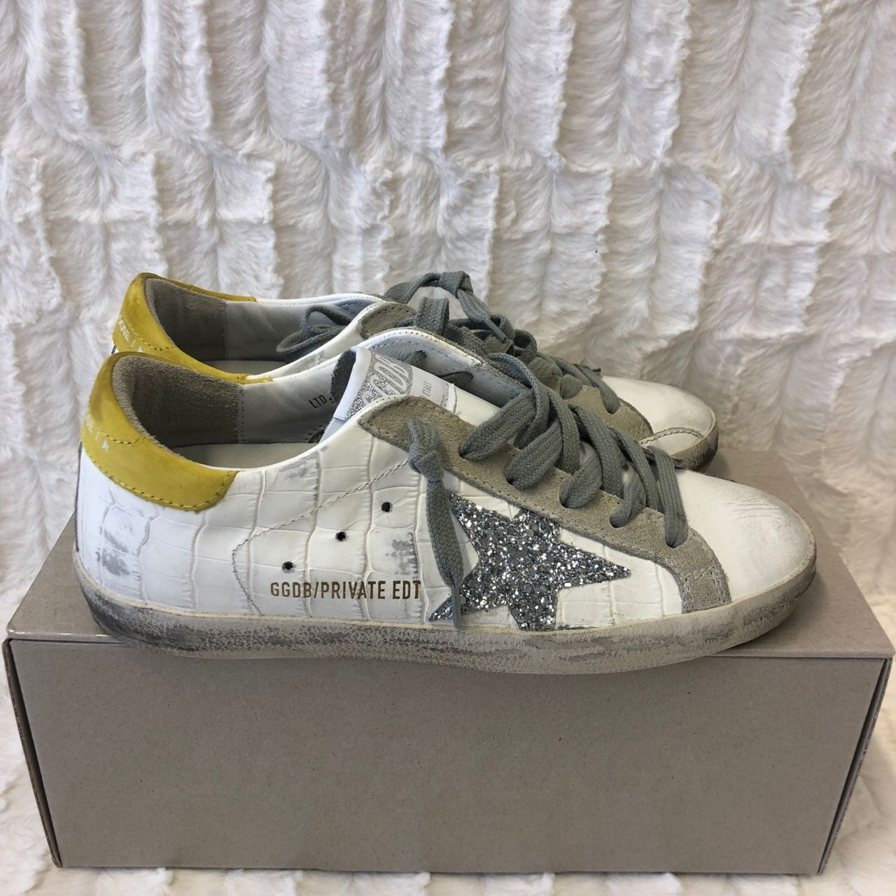 Golden Goose Exclusive to Mytheresa Superstar leather sneakers P00478007